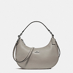 COACH F38250 East/west Harley Hobo SILVER/FOG