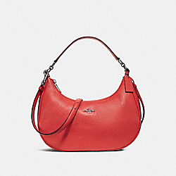COACH F38250 - EAST/WEST HARLEY HOBO SILVER/WATERMELON