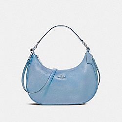 COACH F38250 East/west Harley Hobo SILVER/POOL