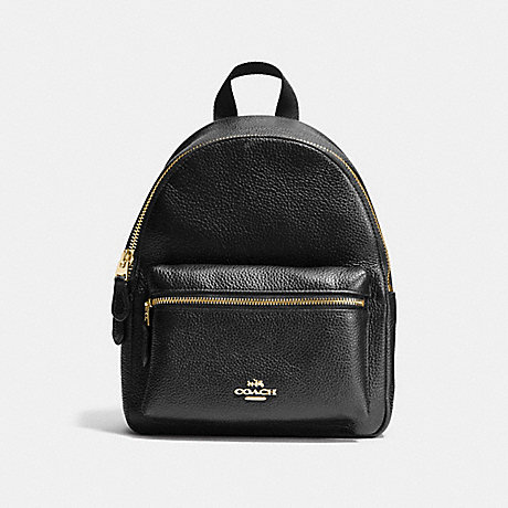hot products offer search for authentic COACH F38263 - MINI CHARLIE BACKPACK IN PEBBLE LEATHER ...