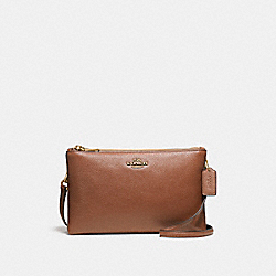 LYLA CROSSBODY - f38273 - IMITATION GOLD/SADDLE 2