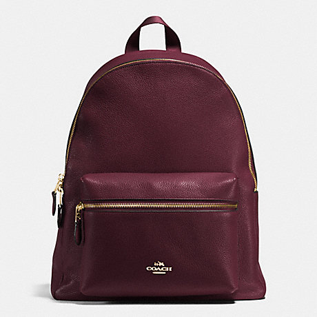 676da880026f COACH F38288 - CHARLIE BACKPACK IN PEBBLE LEATHER - IMITATION GOLD ...