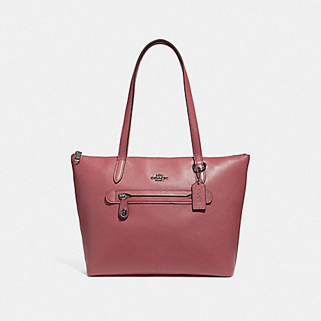 COACH F38312 TAYLOR TOTE DK/WASHED-RED