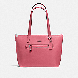 TAYLOR TOTE - F38312 - PEONY/SILVER