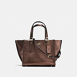COACH F38321 - MINI CROSBY CARRYALL BRONZE/LIGHT GOLD