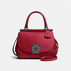 COACH F38388 - DRIFTER TOP HANDLE CHERRY/DARK GUNMETAL