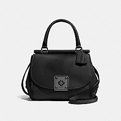 COACH F38388 - DRIFTER TOP HANDLE MATTE BLACK/BLACK