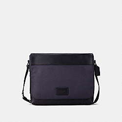 COACH F38741 Messenger MIDNIGHT NAVY/BLACK ANTIQUE NICKEL
