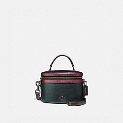 COACH F38769 - TRAIL BAG IN COLORBLOCK METALLIC IVY MULTI/GUNMETAL