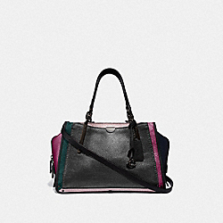 COACH F38841 - DREAMER IN COLORBLOCK METALLIC GRAPHITE MULTI/PEWTER