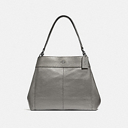 LEXY SHOULDER BAG - F38879 - GUNMETAL/SILVER
