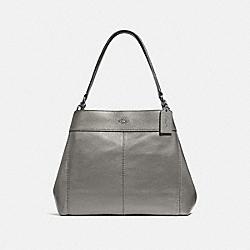 COACH F38879 Lexy Shoulder Bag GUNMETAL/SILVER