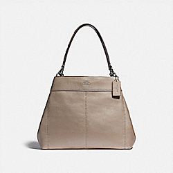 LEXY SHOULDER BAG - F38879 - PLATINUM/SILVER