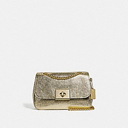 CASSIDY CROSSBODY - F38937 - WHITE GOLD/LIGHT GOLD
