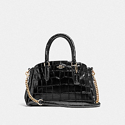 COACH F38956 - MINI SAGE CARRYALL BLACK/IMITATION GOLD