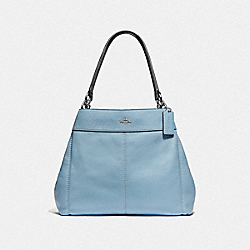 COACH F38991 Lexy Shoulder Bag CORNFLOWER/MIDNIGHT/SILVER