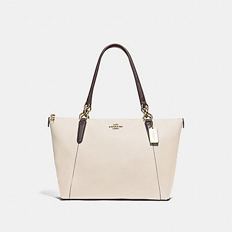 COACH F38993 AVA TOTE CHALK/NEUTRAL/LIGHT GOLD