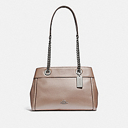 COACH F39019 - BROOKE CHAIN CARRYALL PLATINUM/SILVER