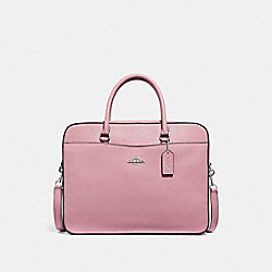 COACH F39022 Laptop Bag PETAL/SILVER