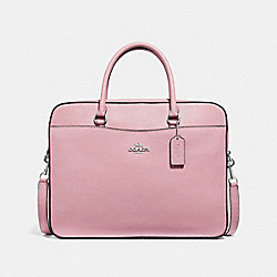 COACH F39022 Laptop Bag CARNATION/SILVER