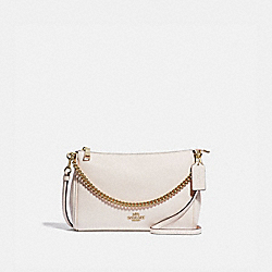 COACH F39206 Carrie Crossbody CHALK/LIGHT GOLD