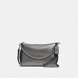 COACH F39207 Carrie Crossbody GUNMETAL/SILVER