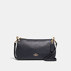 CHARLEY CROSSBODY - F39380 - MIDNIGHT/GOLD
