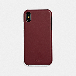 COACH F39450 Iphone Xr Case RED CURRANT