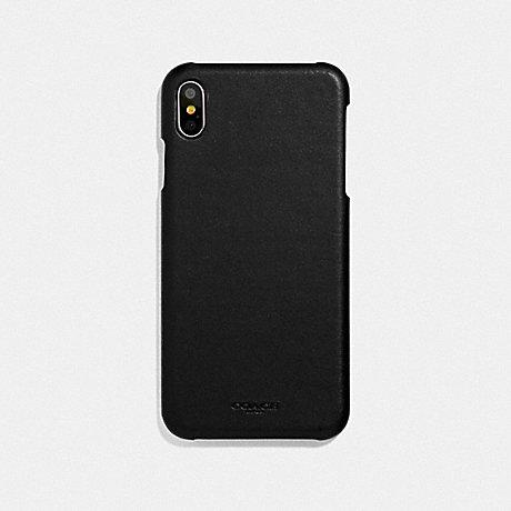 COACH IPHONE XS MAX CASE - BLACK - F39451BLK