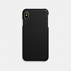 COACH F39451BLK Iphone Xs Max Case BLACK