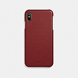 COACH F39451DE3 Iphone Xs Max Case RED CURRANT