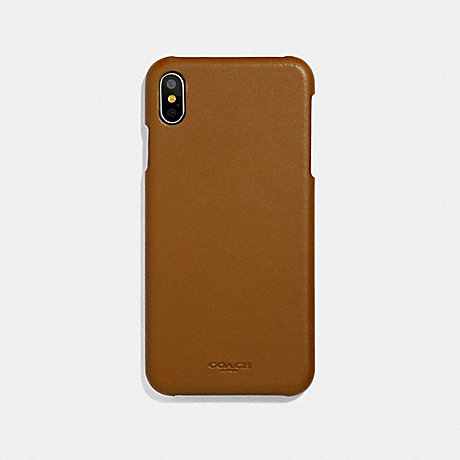 COACH F39451 IPHONE XS MAX CASE SADDLE
