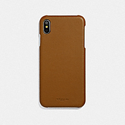 COACH F39451 - IPHONE XS MAX CASE SADDLE