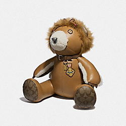 COACH F39471 Lion Bear LIGHT SADDLE