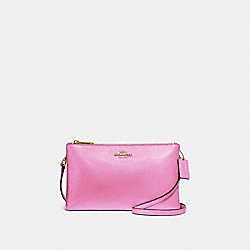 LYLA CROSSBODY - F39505 - METALLIC TULIP/GOLD