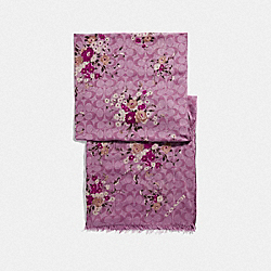 COACH F39537 - SIGNATURE FLORAL BUNDLE PRINT OBLONG PRIMROSE