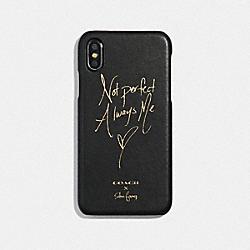 COACH F39541 Selena Iphone X/xs Case BLACK