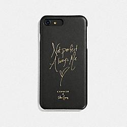 COACH F39549 Selena Iphone 7 Plus/8 Plus Case BLACK