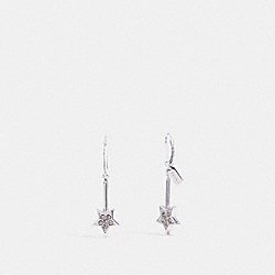 COACH F39552 Wand Earrings SILVER/SILVER