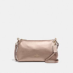 COACH F39591 Charley Crossbody ROSE GOLD/LIGHT GOLD
