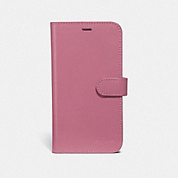 COACH F39595 Iphone X/xs Folio ROSE