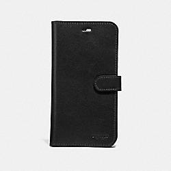 COACH F39596 Iphone 7 Plus/8 Plus Folio BLACK