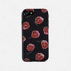 COACH F39612 Iphone X/xs Case With Poppy Print BLACK/MULTICOLOR