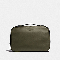 COACH F39806 Multifunction Pouch JUNIPER/BLACK ANTIQUE NICKEL