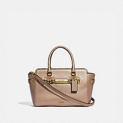 COACH F39847 Blake Carryall 25 ROSE GOLD/LIGHT GOLD