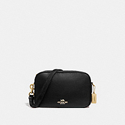 COACH F39856 - JES CROSSBODY BLACK/LIGHT GOLD