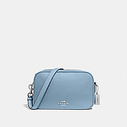 JES CROSSBODY - F39856 - CORNFLOWER/SILVER