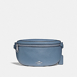 COACH F39939 Belt Bag SV/SLATE
