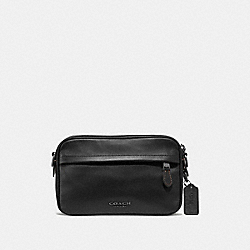 GRAHAM CROSSBODY - F39946 - BLACK/BLACK ANTIQUE NICKEL
