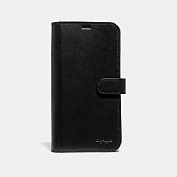 COACH F39953 Iphone Xs Max Folio BLACK